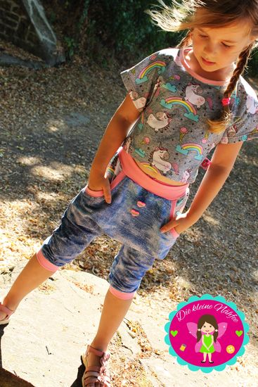 Produktfoto für Schnittmuster Girly Kombi von Frau Ninchen