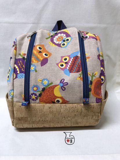 Produktfoto für Schnittmuster Rucksack KlapPack von shesmile