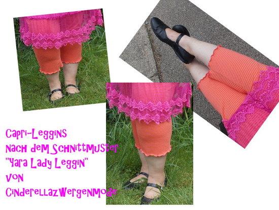 Foto zu Schnittmuster Yara Lady Leggin von Cinderella Zwergenmode
