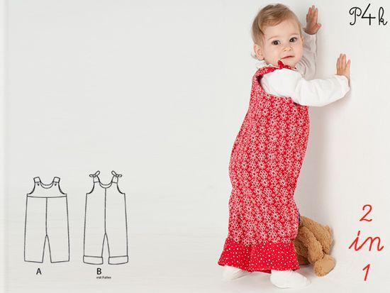 Foto zu Schnittmuster Lilli&Bo von Pattern 4 kids
