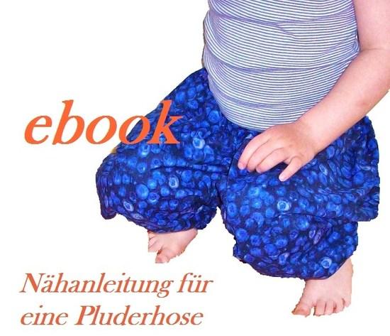 Schnittmuster Pluderhose von Pflaumenwurst