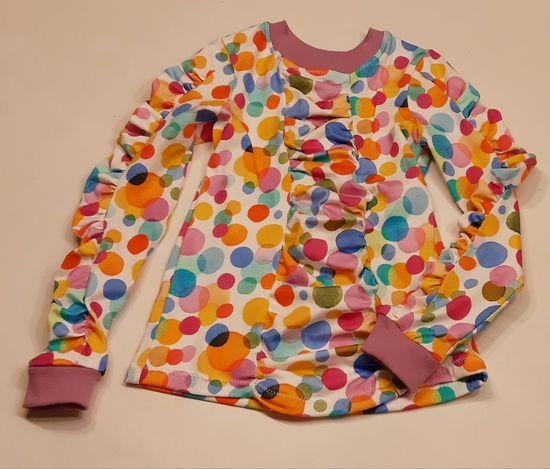 Produktfoto für Schnittmuster Faltenshirt Lourida von olilu