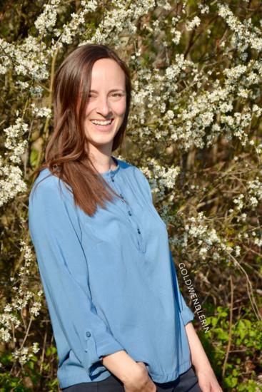 Produktfoto für Schnittmuster Damenbluse Robinia von Fabelwald