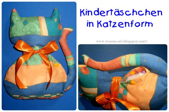 Foto zu Schnittmuster Kids-Cat-Bag von Wesens-Art
