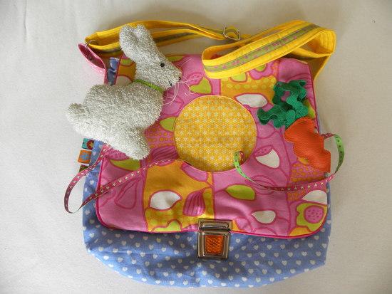 Foto zu Schnittmuster Kindergartentasche Himpelchen und Pimpelchen von Farbenmix
