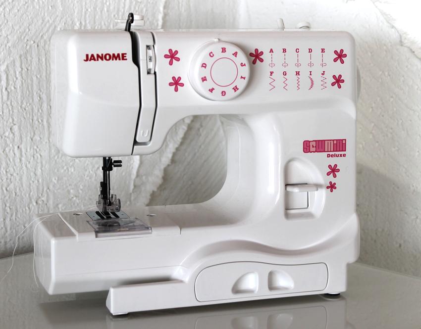 Janome Sew Mini de Luxe und die Kinder-Nähschule - was man für das