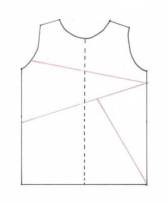Mach mal geteilt - Schnittmuster mit Unterteilungen versehen